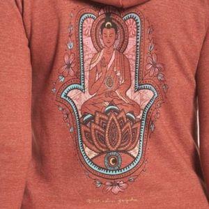 Spiritual Gangster Zip-up Hoodie